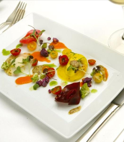 vegetarian option by Gabriel le Roux