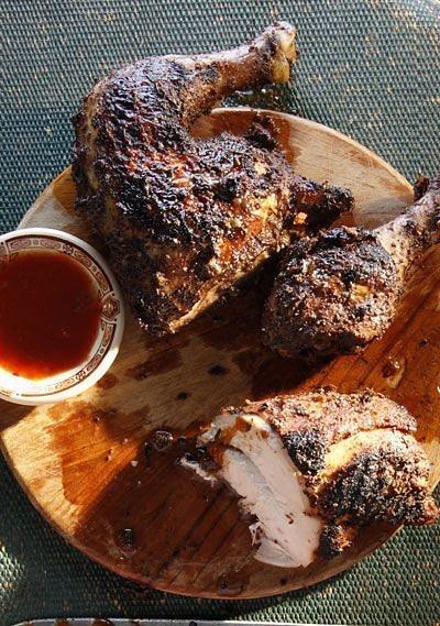 jamaican jerk chicken by Gabriel le Roux