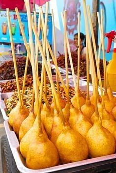 thailand bangkok street dessert