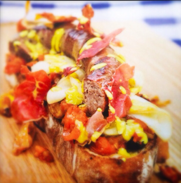 ultimate boerewors roll, my style by Gabriel le Roux