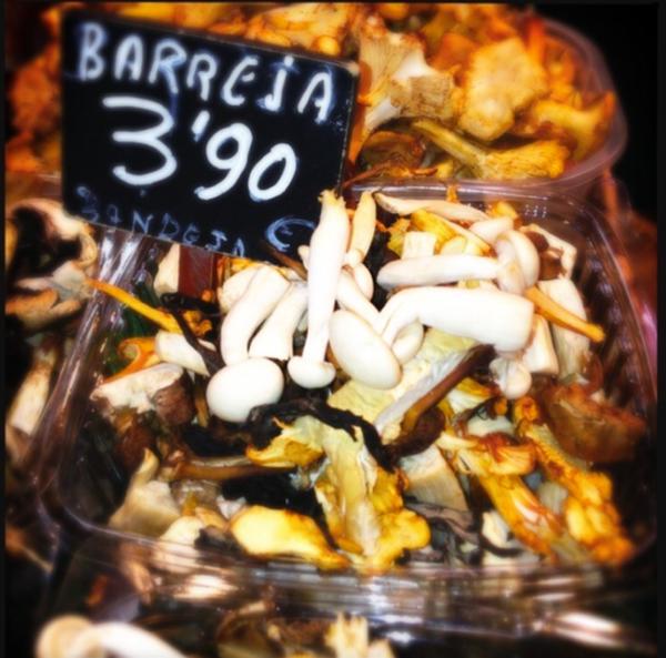 spanish food market by Gabriel le Roux