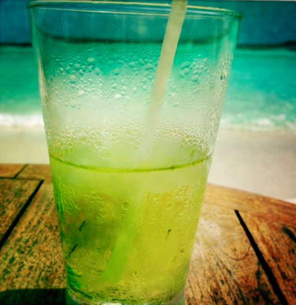 mint cooler after a dive