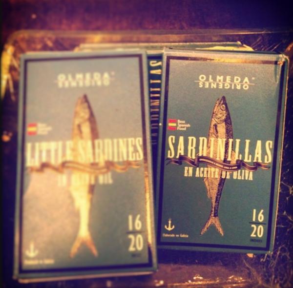 spanish white sardines by Gabriel le Roux
