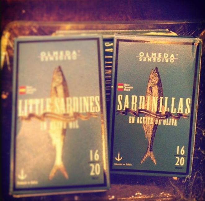 spanish white sardines