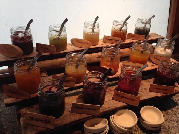 homemade jam by Gabriel le Roux