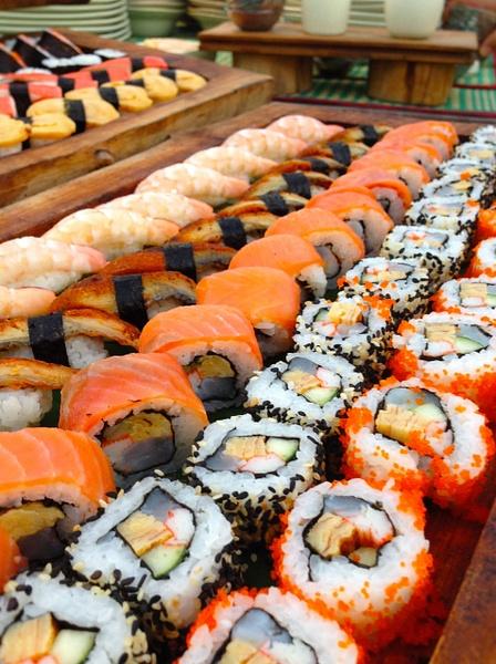 sushi by Gabriel le Roux