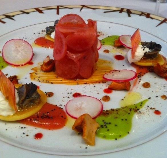 tomato terrine by Gabriel le Roux