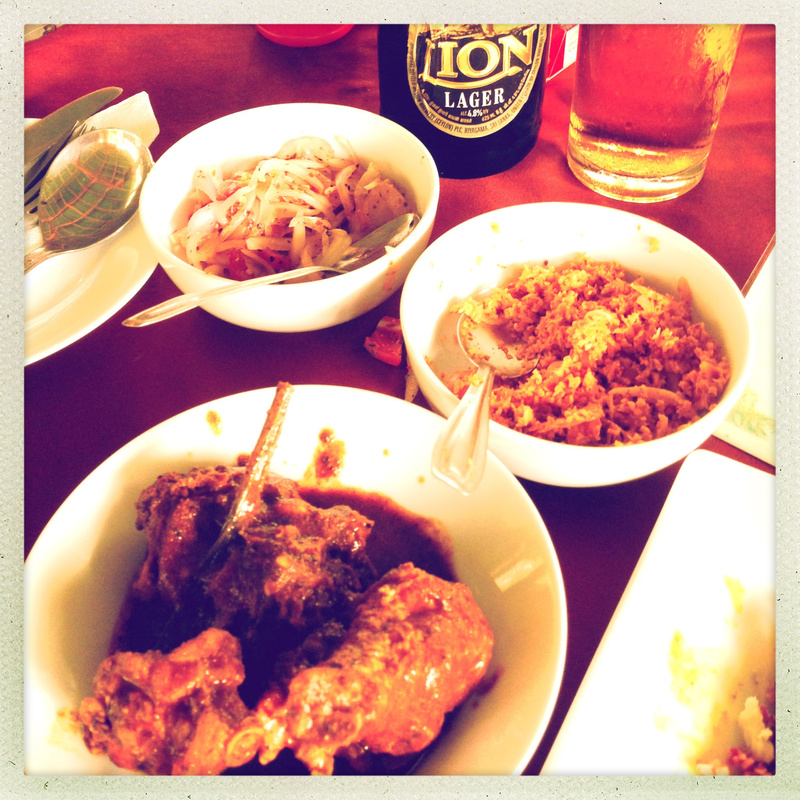 sri lanka curry lunch