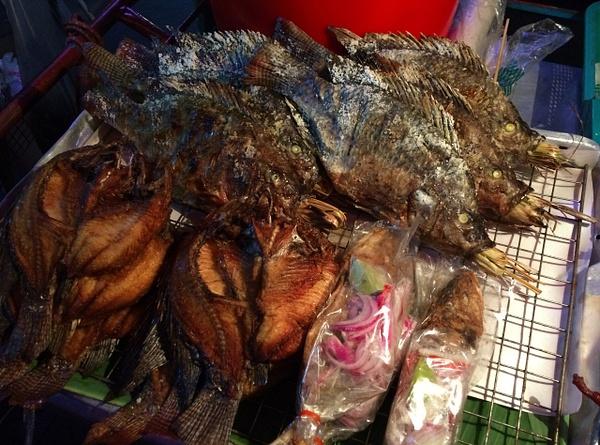 thai fried fish by Gabriel le Roux