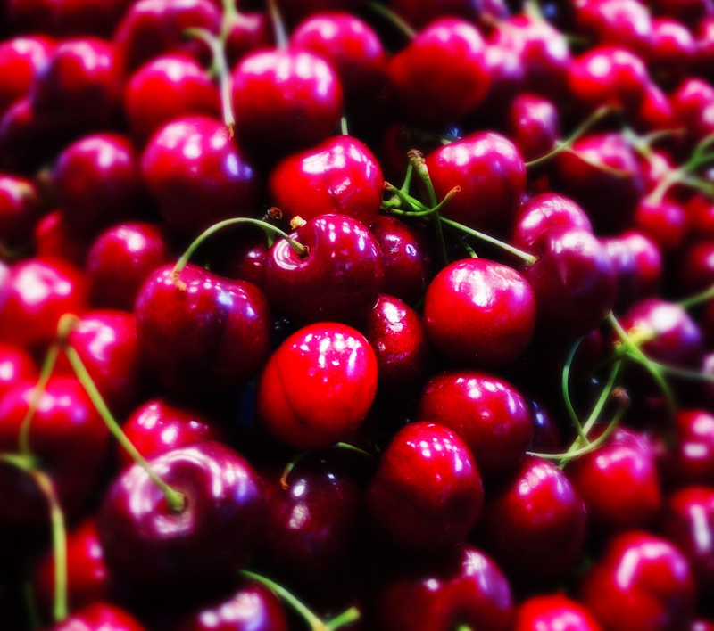 again some beautiful cherries