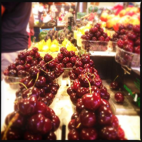 beautiful cherries by Gabriel le Roux