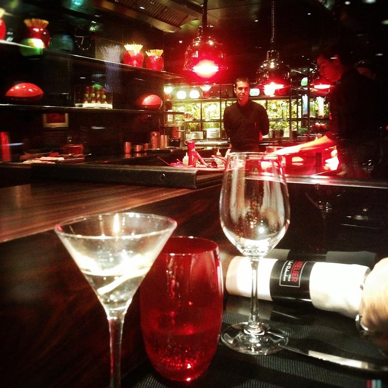dinner at the bar joel robuchon