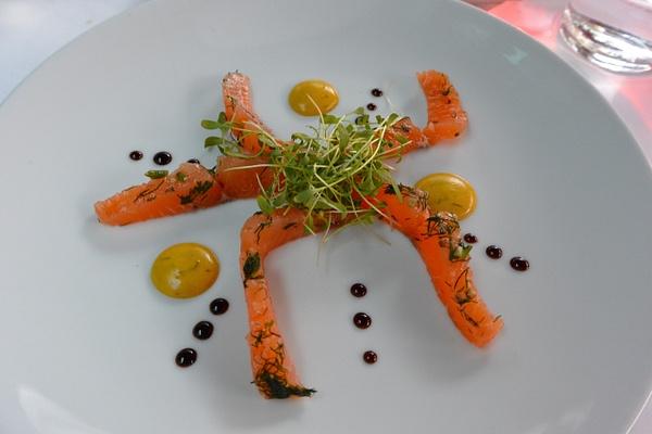 salmon salad by Gabriel le Roux