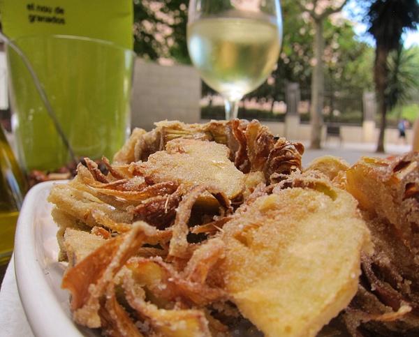 fried artichoke by Gabriel le Roux