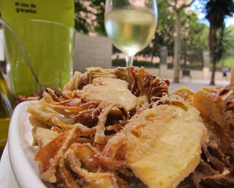 fried artichoke