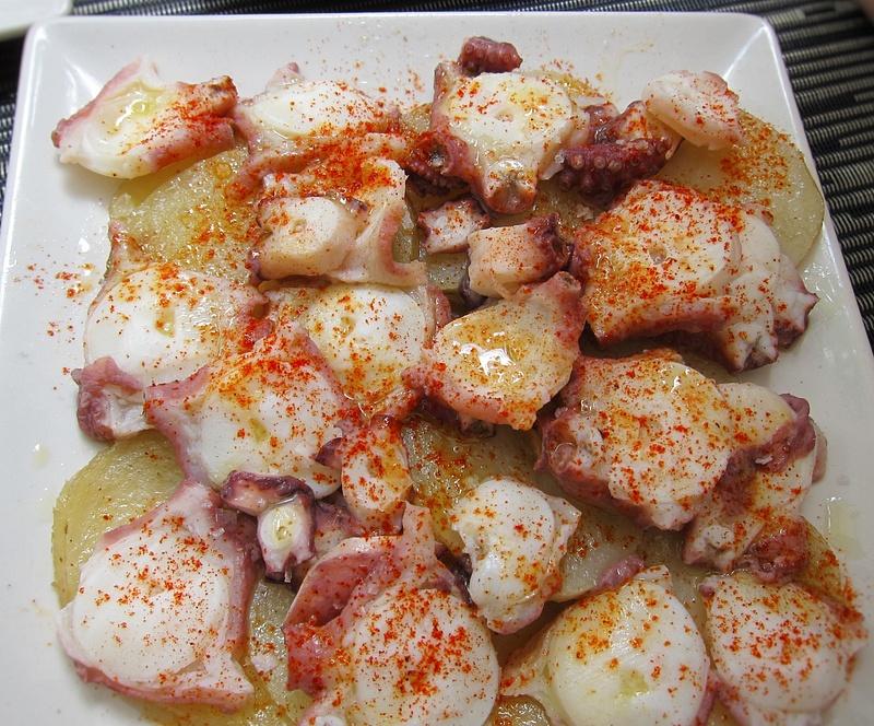 marinated calamari
