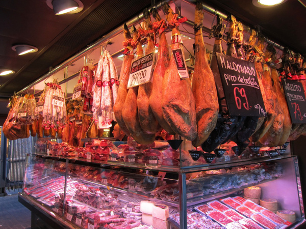 cold meat deli spain by Gabriel le Roux