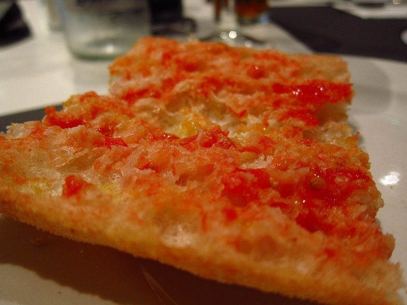 tomato bread after