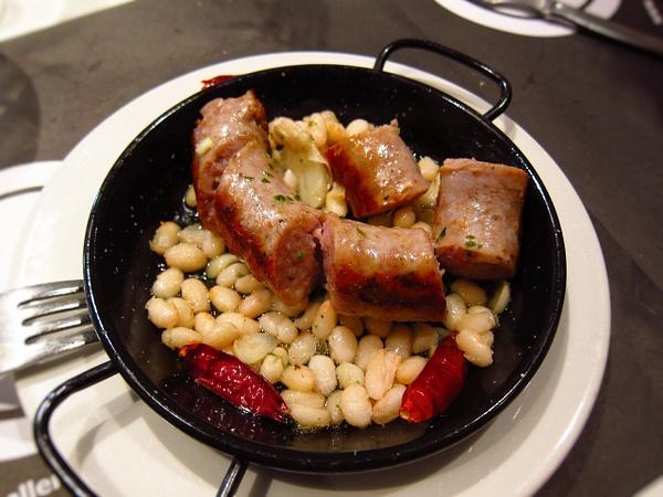 sausage cassoulet by Gabriel le Roux