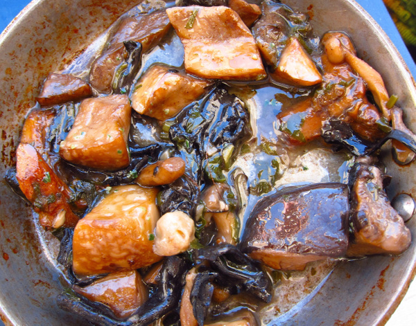 sauteed wild mushrooms by Gabriel le Roux
