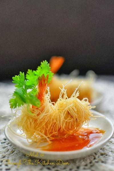 crispy prawn by Gabriel le Roux