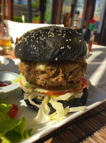 pork burger by Gabriel le Roux
