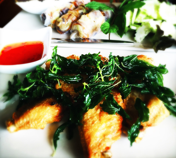 thai tapas by Gabriel le Roux