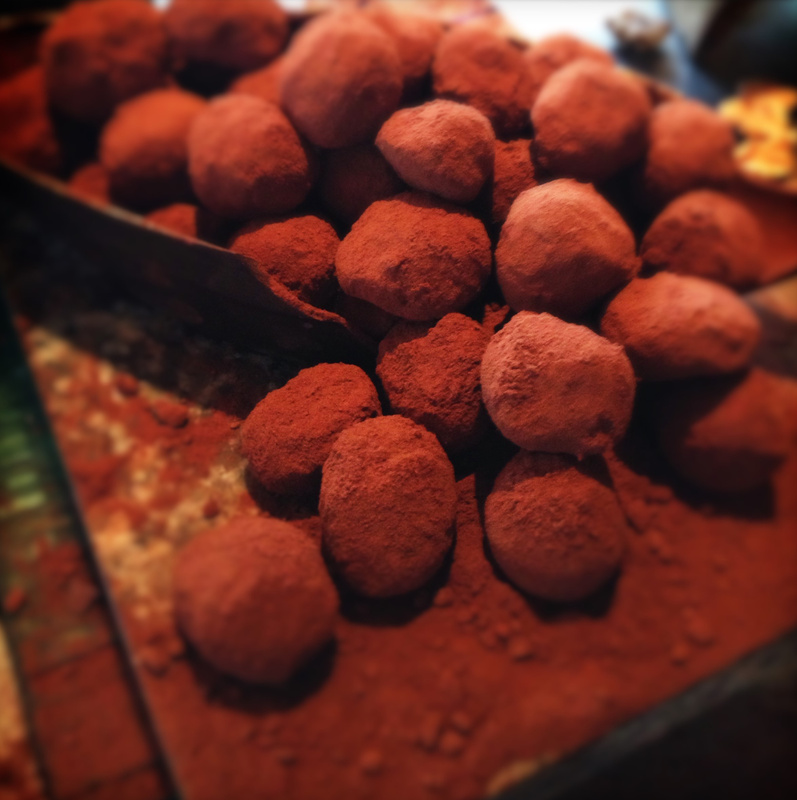 chocolate room truffles