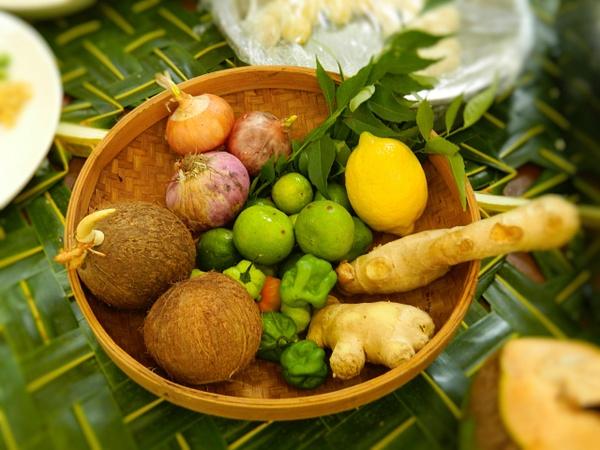 maldives basic cooking ingredients by Gabriel le Roux