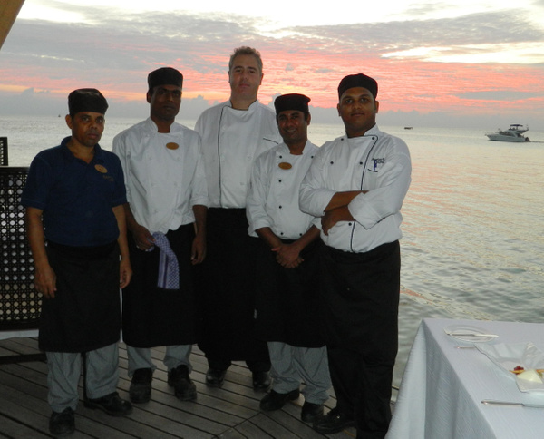 the fine dining team by Gabriel le Roux