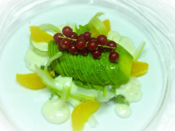 cranberry salad by Gabriel le Roux