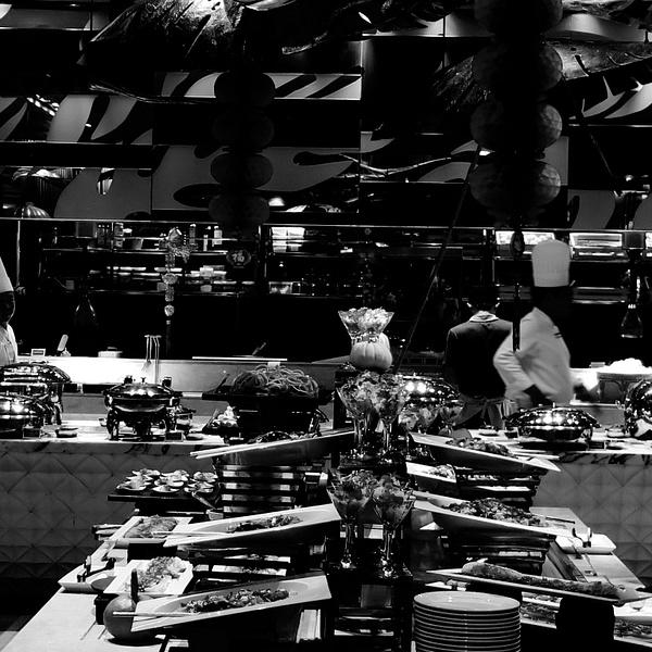 buffet by Gabriel le Roux