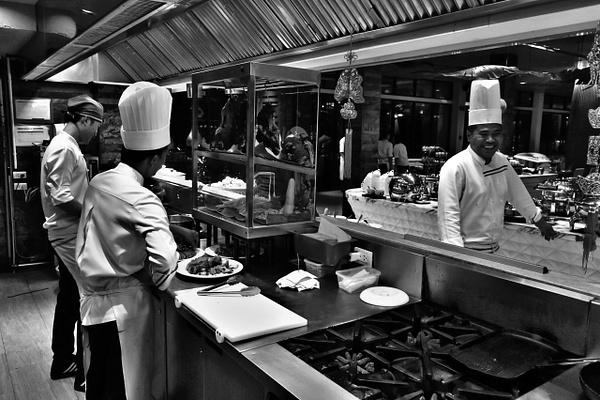 happy chefs by Gabriel le Roux