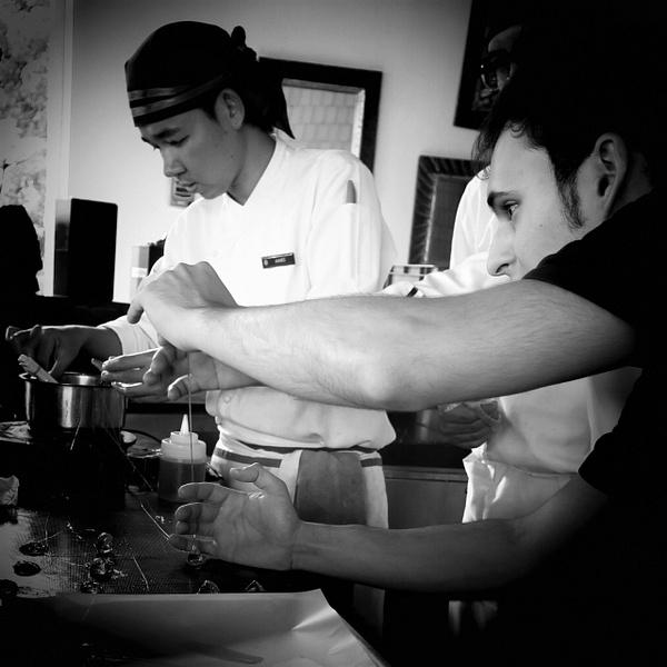 making bonbons by Gabriel le Roux