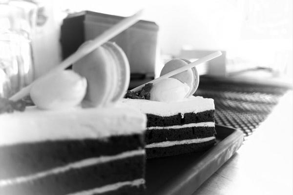 opera cake by Gabriel le Roux