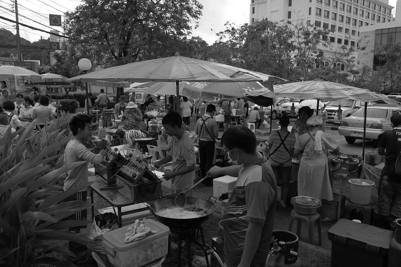 Phuket street food market