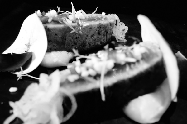 seared tuna by Gabriel le Roux