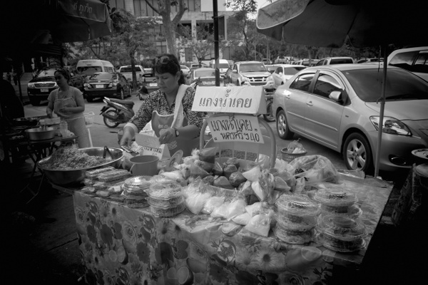 street food stand by Gabriel le Roux