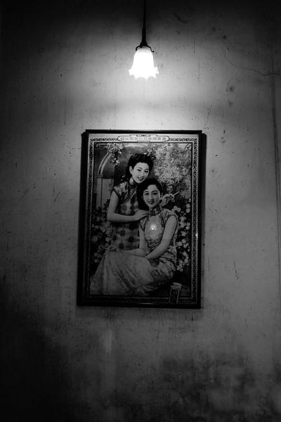 Thai woman smoking by Gabriel le Roux