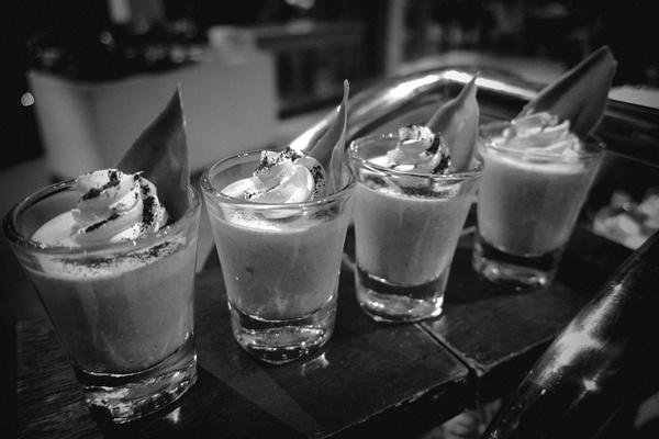 vanilla mousse by Gabriel le Roux