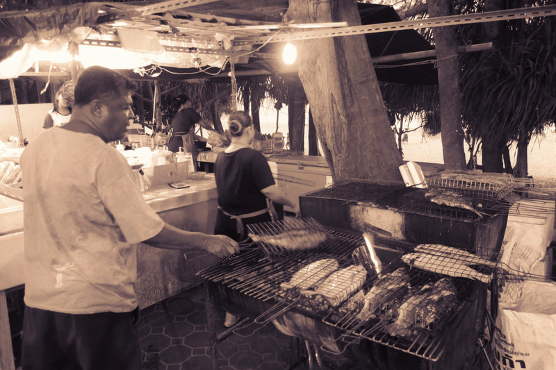 bbq salted fish