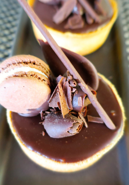 chocolate tart by Gabriel le Roux