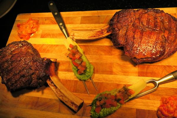 tomahawk steak by Gabriel le Roux