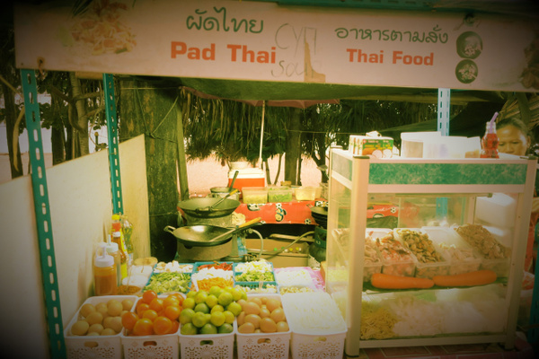 this is pad thai by Gabriel le Roux