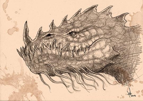 Dragon by Romeodraw