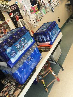 Extra credit water cases