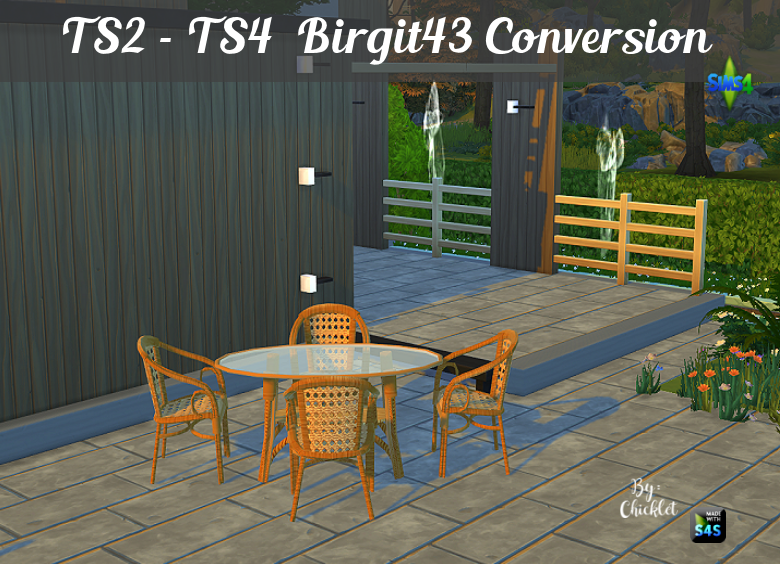 By Request - Wicker Set Conversion TS2_-_TS3_Rattan_Dining_Conversion