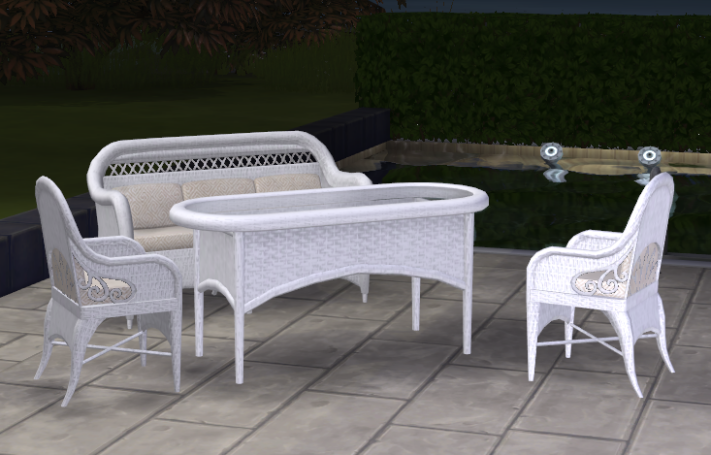 By Request - Wicker Set Conversion White_Set