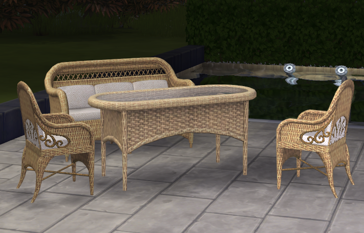 By Request - Wicker Set Conversion Tan_Set