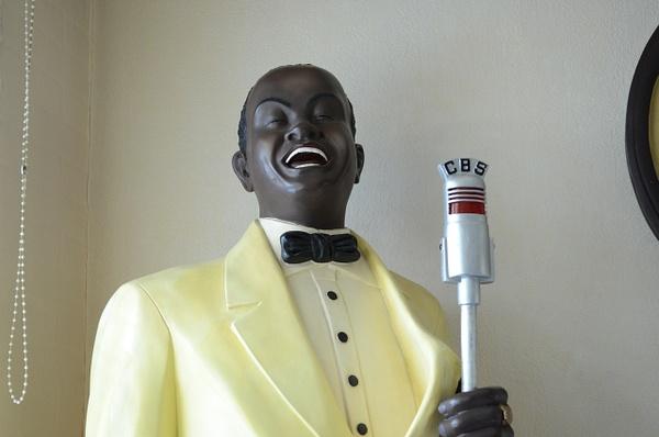 Beeld muzikant enkel (51-200 cm) by JohnsJazzCollection